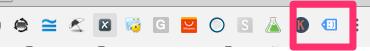 Ghromeブラウザ上部の「GoogleTagAssistant」のボタンをクリック