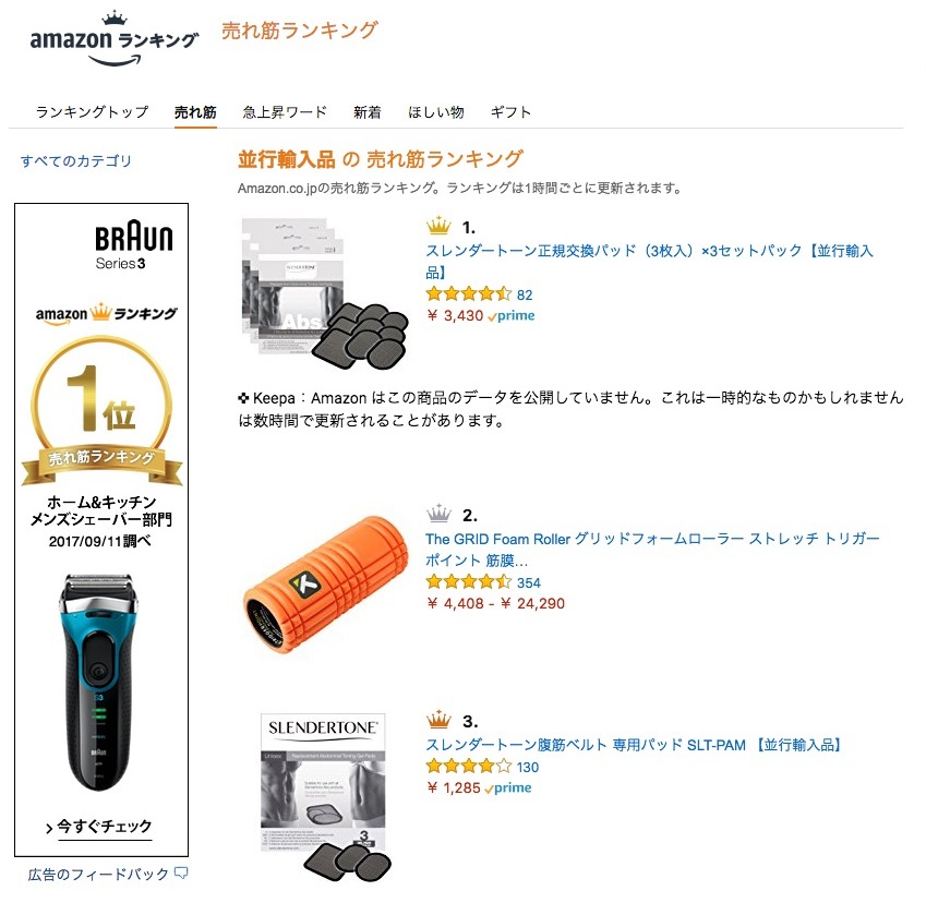 amazon-import-research-ranking