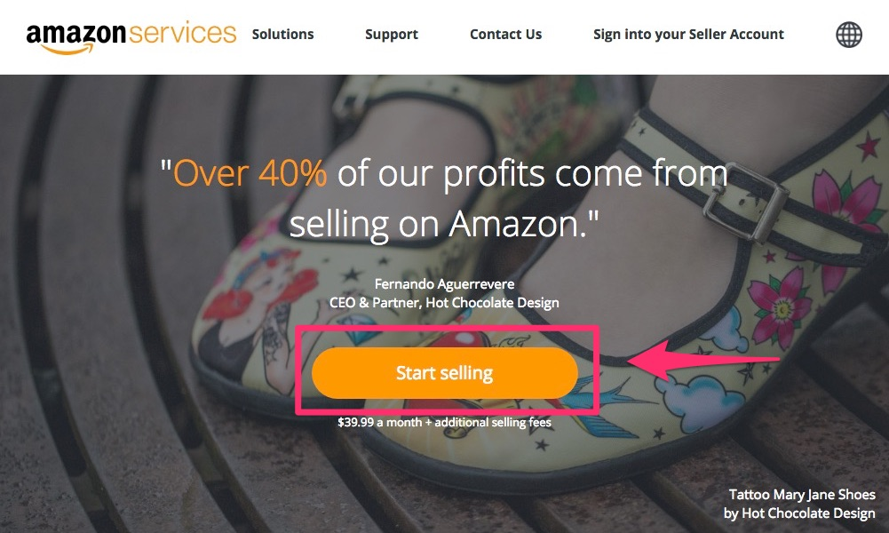 amazon-export-signup